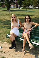 Public Nudity with Faye Runaway and Isabella Sky from ALS Scan