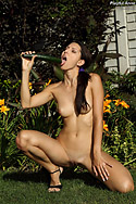 Playful Anne Gets Intimate with a Banana from ALS Angels
